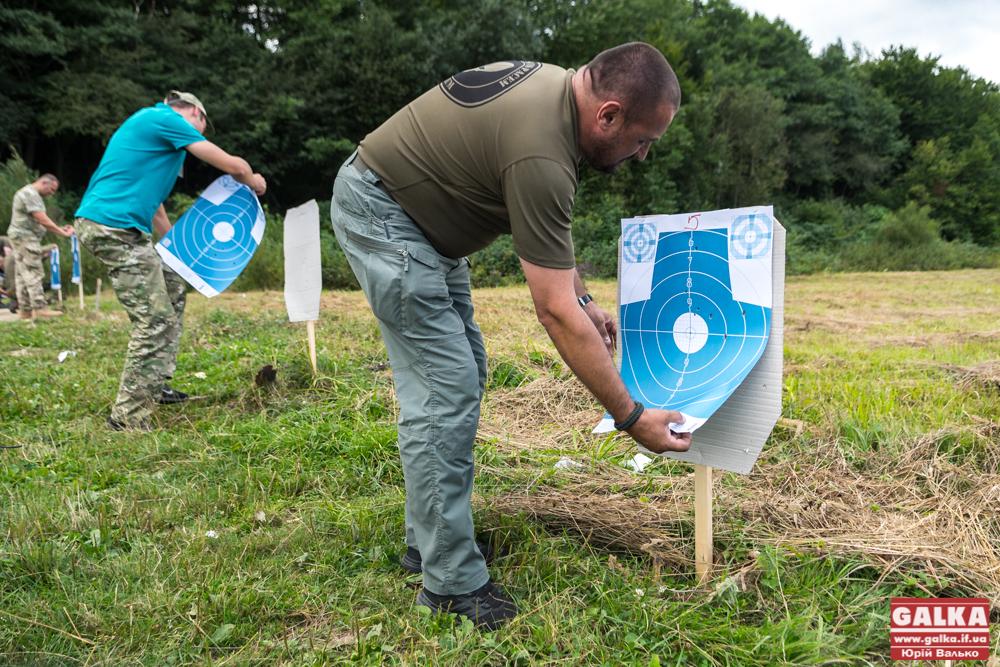 Прикарпатські ветерани АТО змагалися в снайпінгу 6