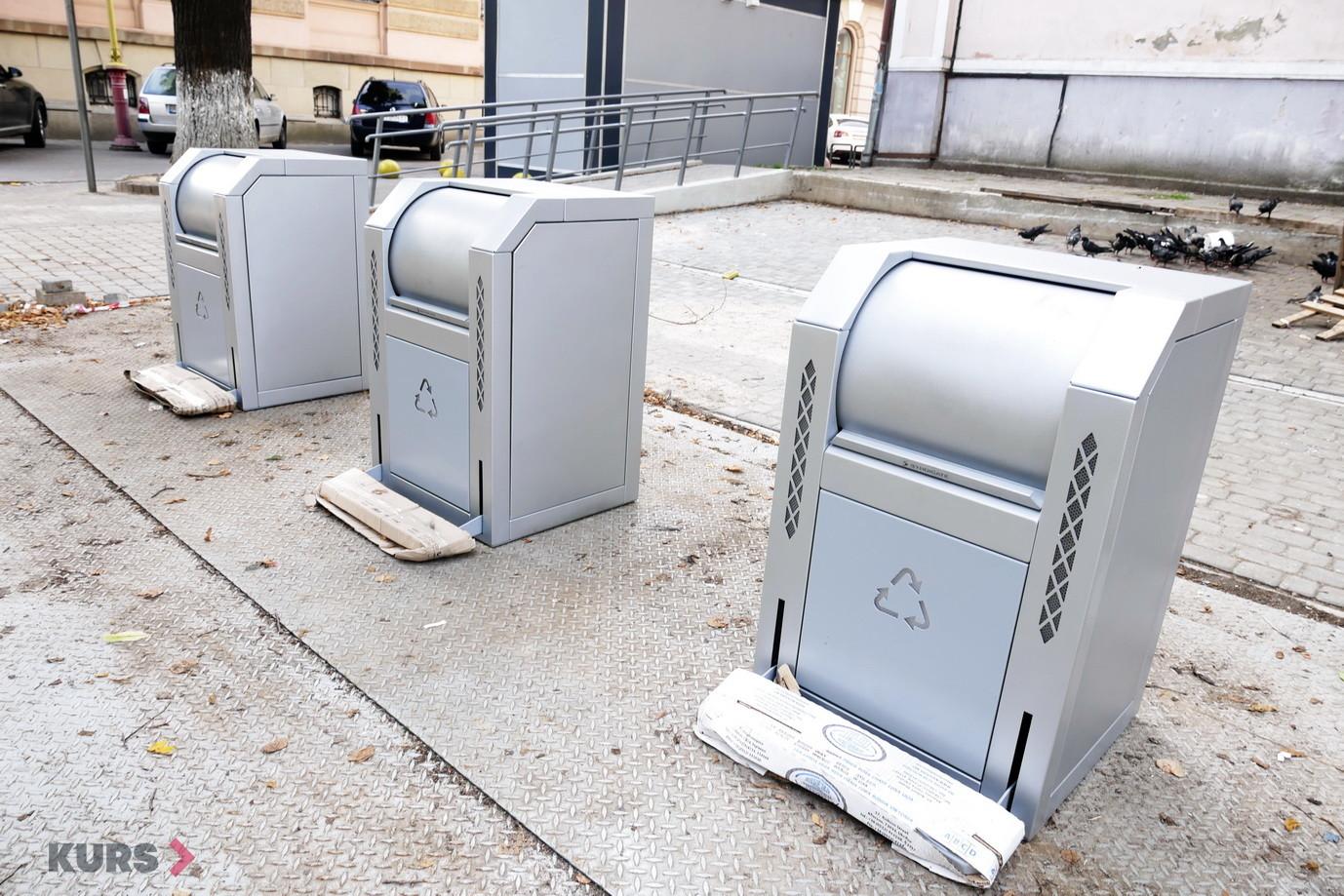 У бюджетних установах Франківська встановлять урни для роздільного збору сміття 1