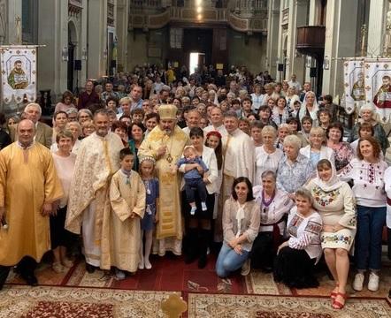 Коломийський єпископ очолив урочисте богослужіння в італійському храмі 10