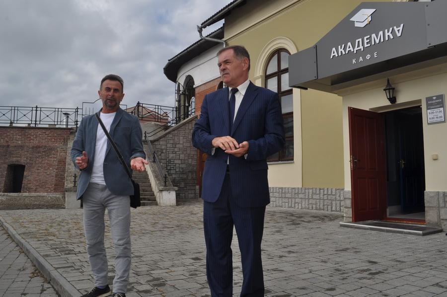 """У Франківську відкрили студентський простір для майбутніх медиків """"Академка"""" 14"""