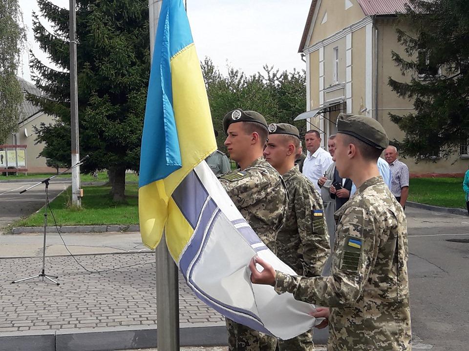 У Прикарпатському військово-спортивному ліцеї влаштували флешмоб на звільнення полонених моряків 4