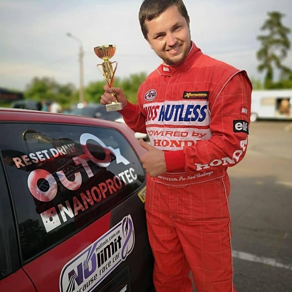Франківець посів третє місце на фестивалі швидкості RTR 2