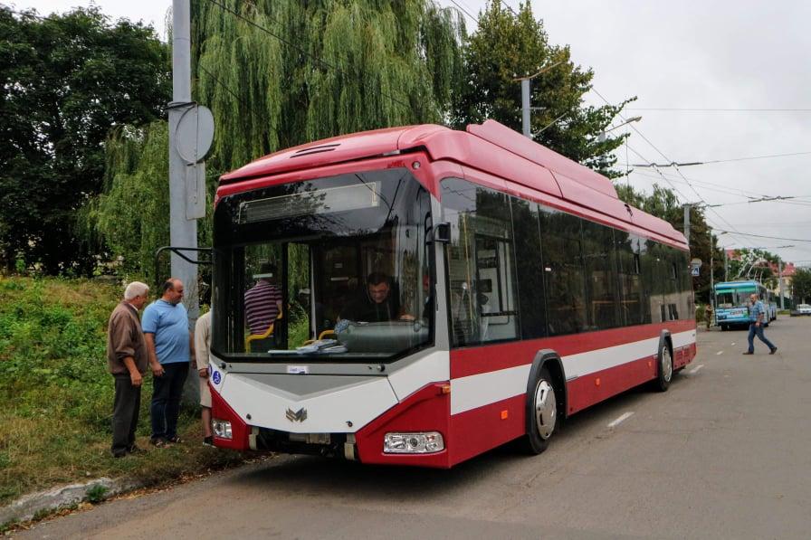 До Франківська приїхала перша партія білоруських тролейбусів 10