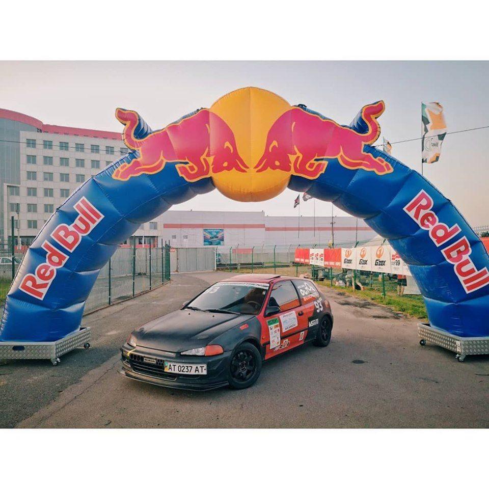 Франківець посів третє місце на фестивалі швидкості RTR 4