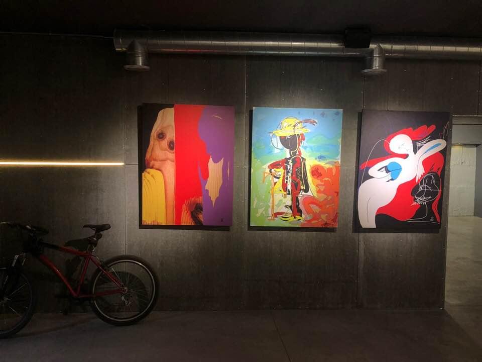 """У франківському """"Ваґабундо"""" відкрили виставку цифрової графіки 2"""