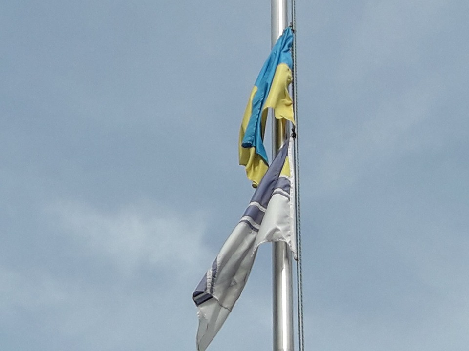 У Прикарпатському військово-спортивному ліцеї влаштували флешмоб на звільнення полонених моряків 1