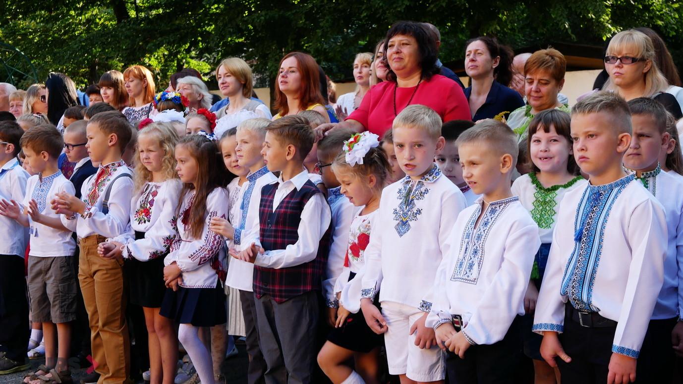 У школах Івано-Франківська пролунав перший дзвоник 12