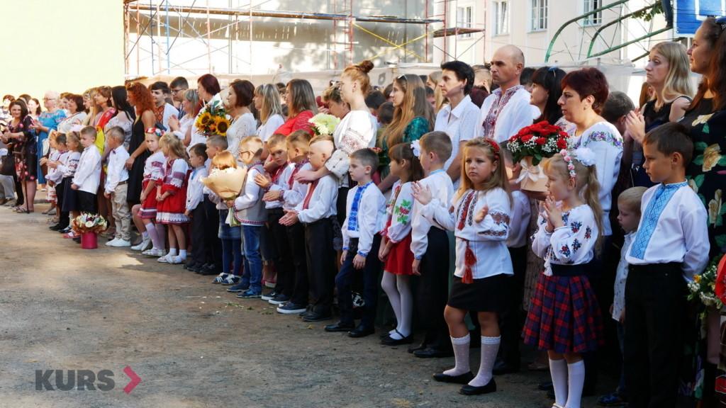 У школах Івано-Франківська пролунав перший дзвоник 8