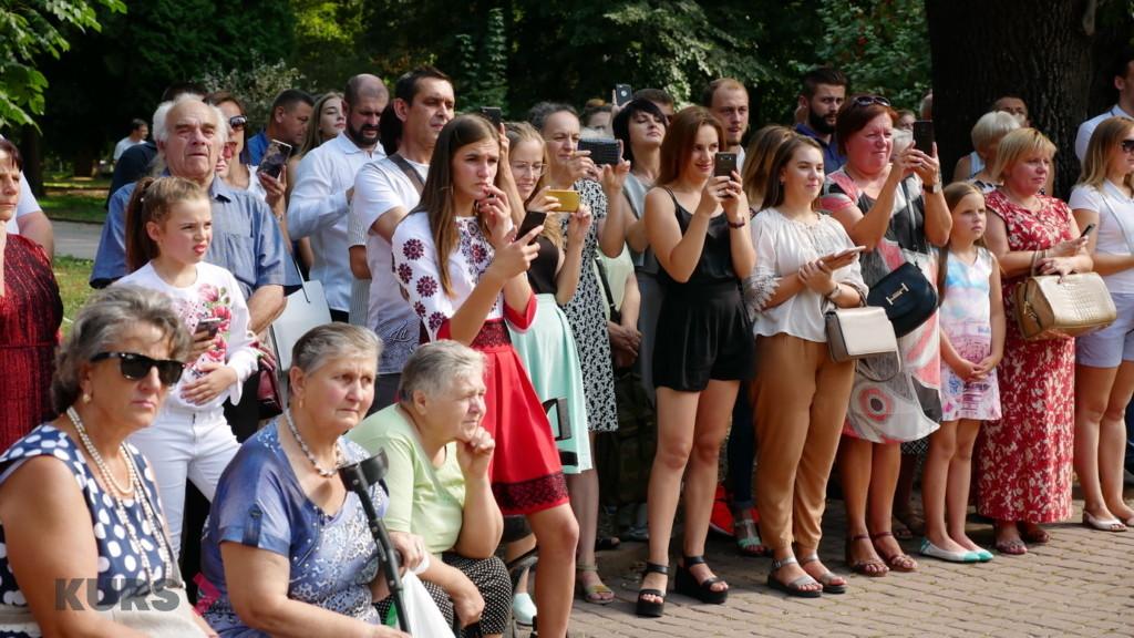 Випускники військової кафедри ПНУ ім. В. Стефаника урочисто склали присягу 9