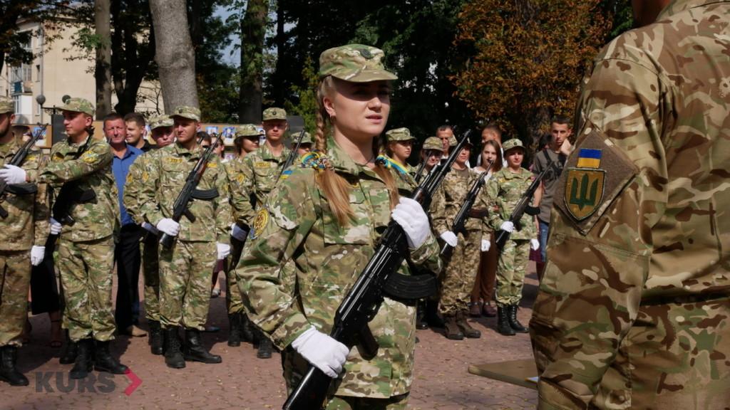 Випускники військової кафедри ПНУ ім. В. Стефаника урочисто склали присягу 1