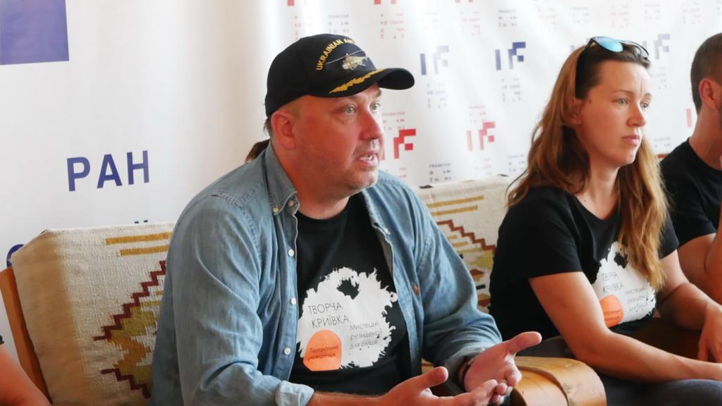 """У Франківську ветерани війни покажуть """"тривимірну"""" документальну виставу """"Голоси"""" 4"""