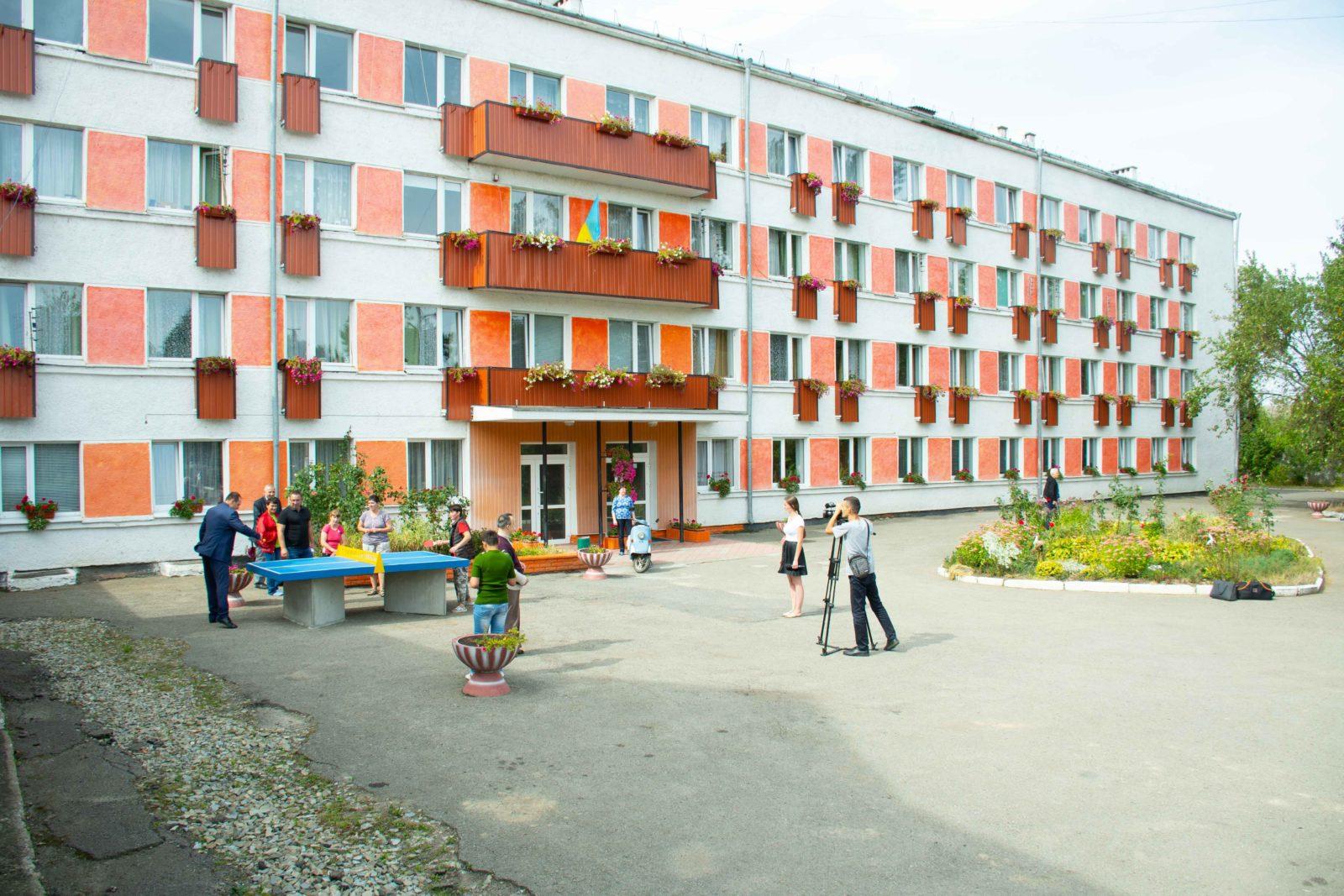 У франківському геріатричному пансіонаті облаштували спортивну відпочинкову зону 18