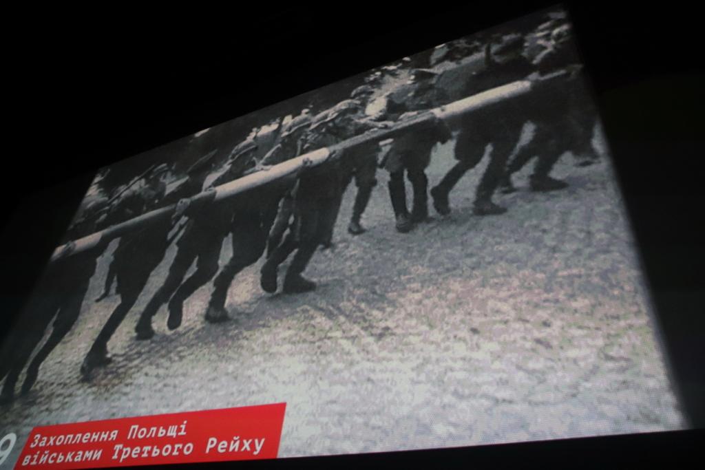 У Франківську показали документальний фільм, як Армія Крайова та УПА виступили проти радянських окупантів 16
