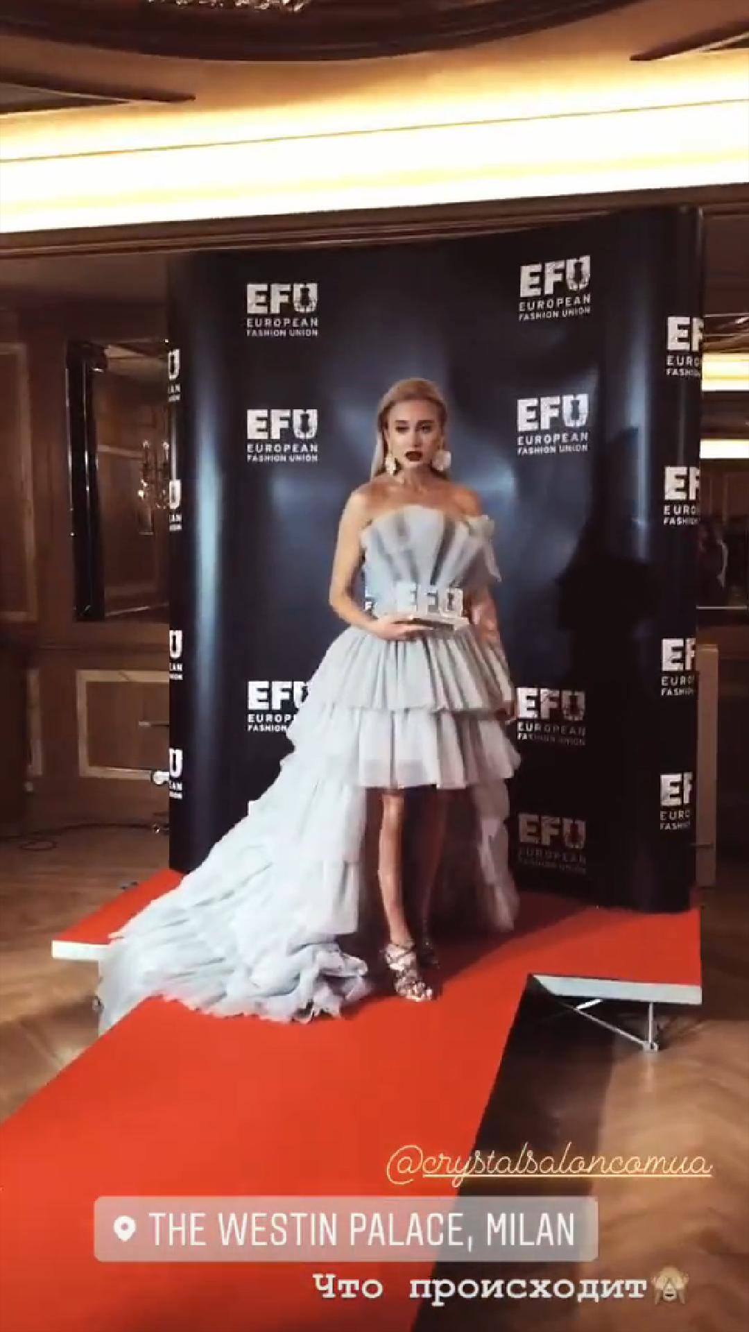 Франківка Тетяна Кодзаєва стала fashion-блогером року в Мілані 8