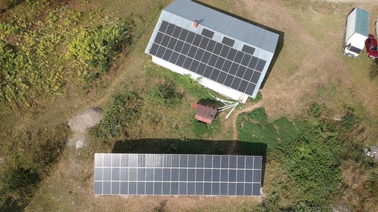 Сонячну електростанцію для дому потужністю 30 кВт встановлено в Кобаках 2