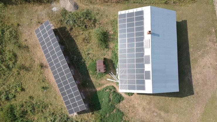 Сонячну електростанцію для дому потужністю 30 кВт встановлено в Кобаках 4