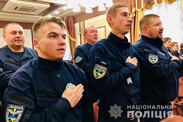 У Франківську 10 патрульних склали присягу на вірність народові України 2