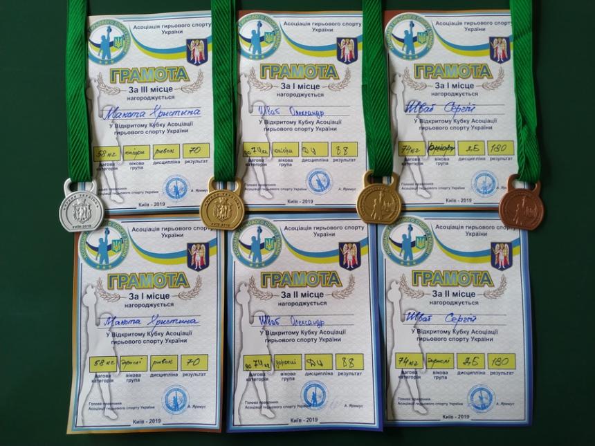 Студенти ІФНМУ стали переможцями кубка Асоціації гирьового спорту України 6