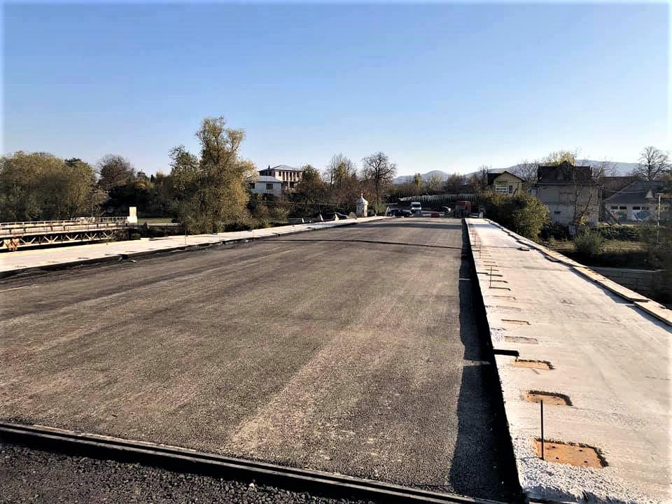 У Косові дорожники завершують ремонт моста 2