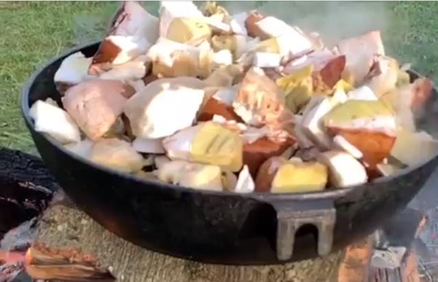 У Карпатах пішли гриби – осінні білі 2