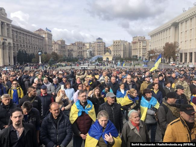 На Майдані проходить віче проти капітуляції 4
