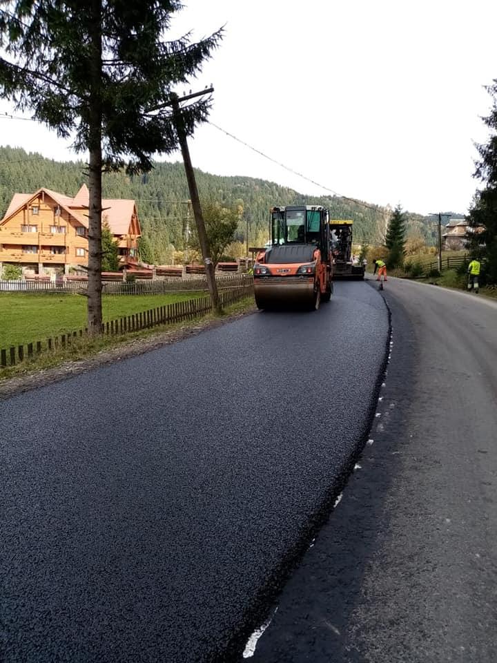 На Верховинщині ремонтують дороги 6
