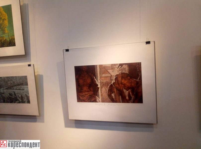 У Франківську відкрили виставку білоруського художника 4