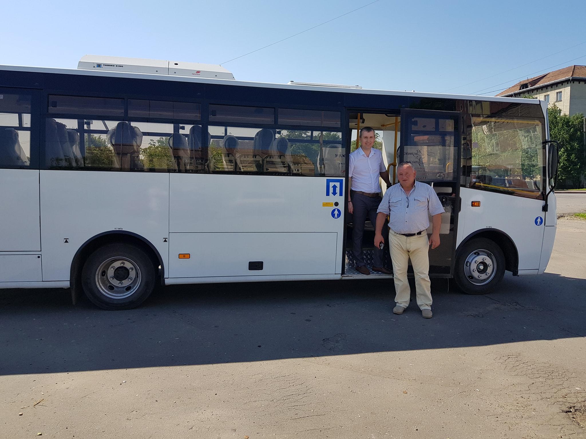 У Брошнів-Осадській ОТГ запустили безкоштовний автобус 2