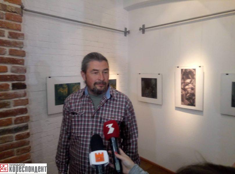 У Франківську відкрили виставку білоруського художника 8