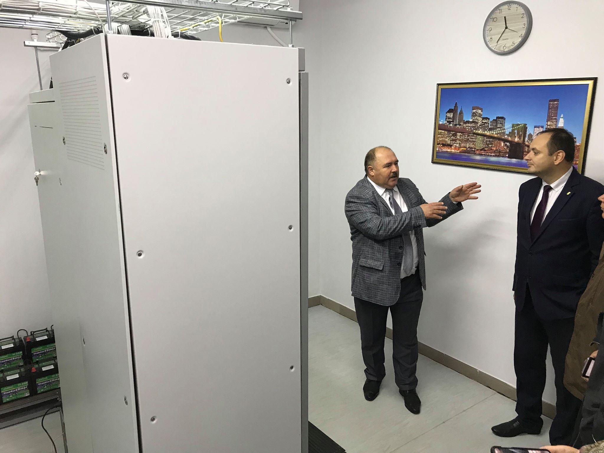 У Франківську відкрили диспетчерську Обласного центру екстреної меддопомоги 32