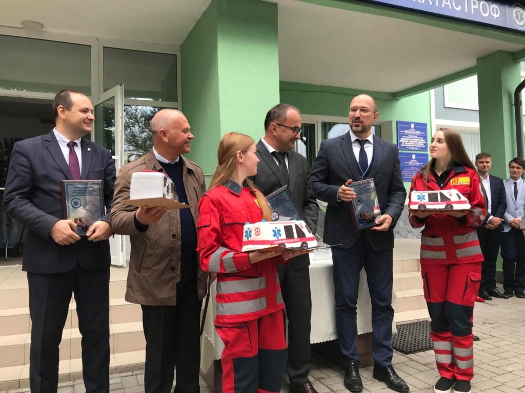 У Франківську відкрили диспетчерську Обласного центру екстреної меддопомоги 18