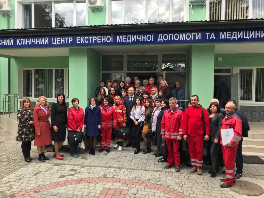 У Франківську відкрили диспетчерську Обласного центру екстреної меддопомоги 36