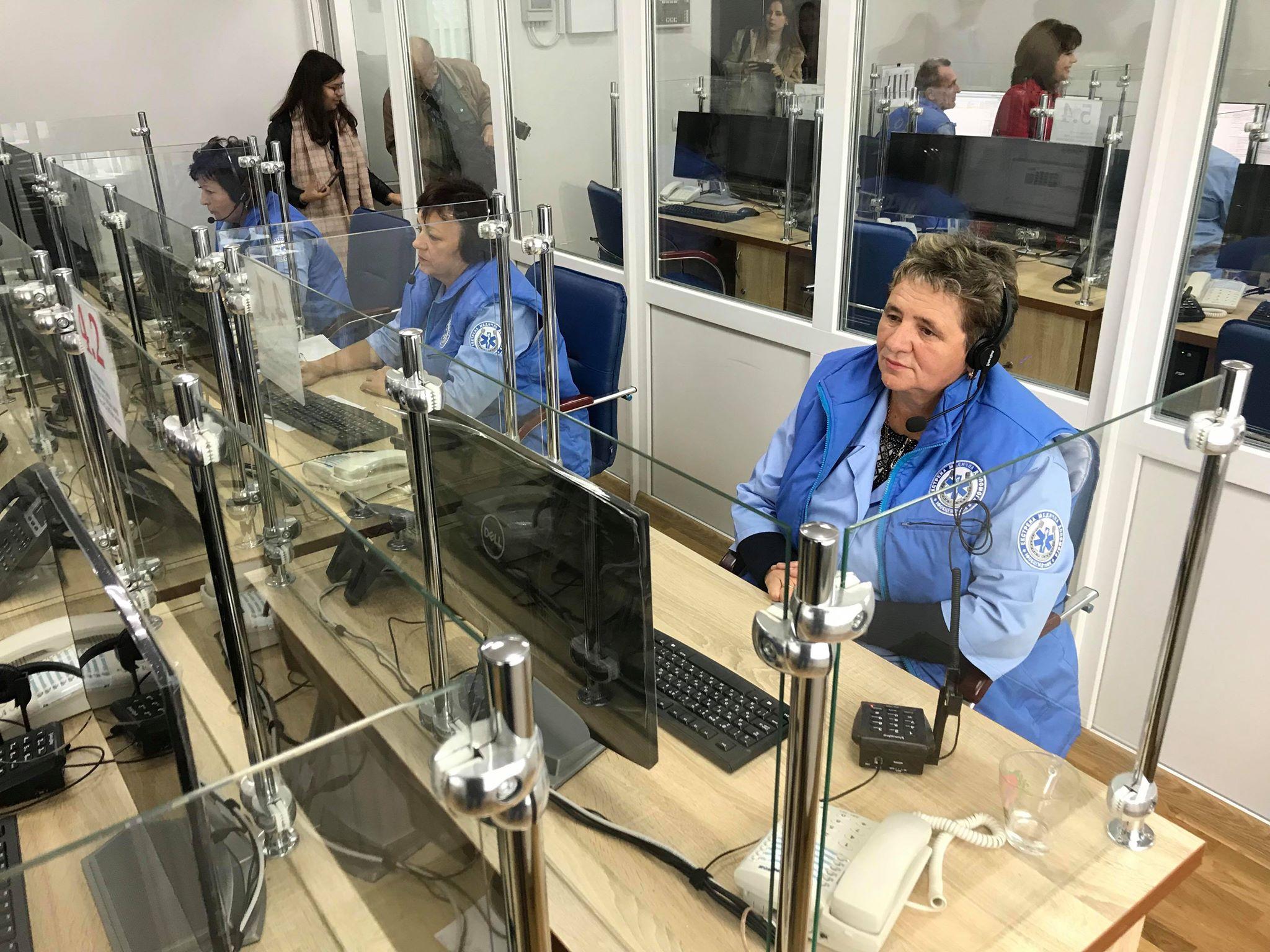У Франківську відкрили диспетчерську Обласного центру екстреної меддопомоги 26