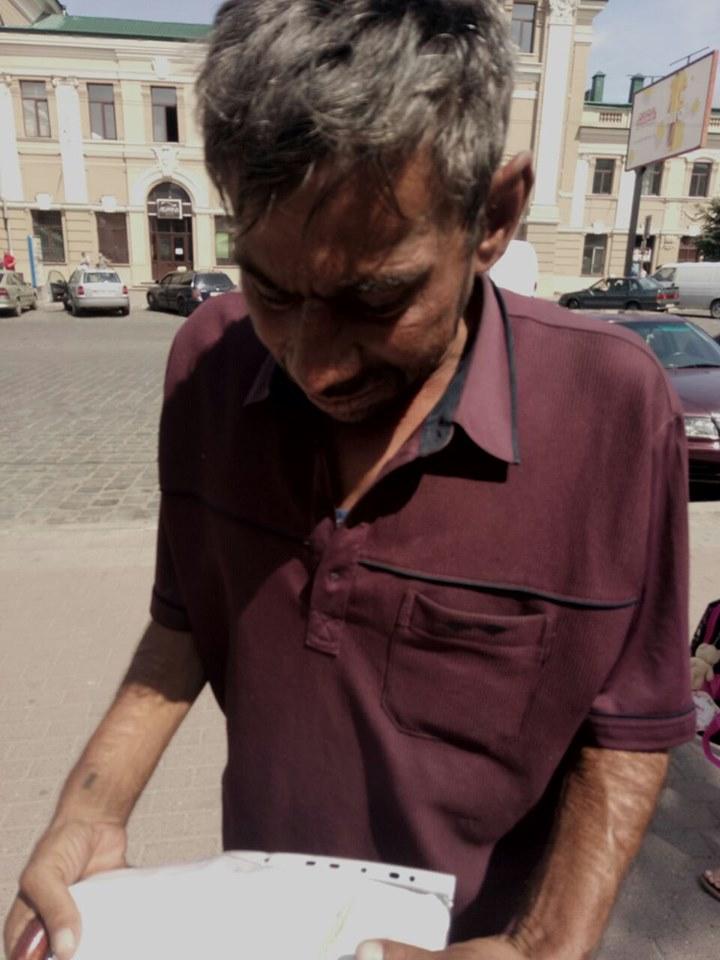 Муніципали застерігають франківців про циган, які вже рік жебракують у місті 4