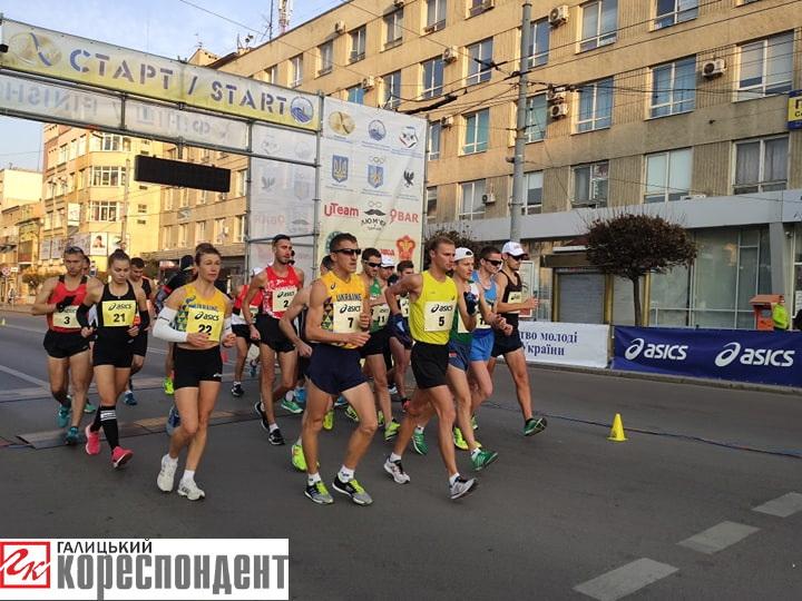 У Франківську розпочався чемпіонат України зі спортивної ходьби 2