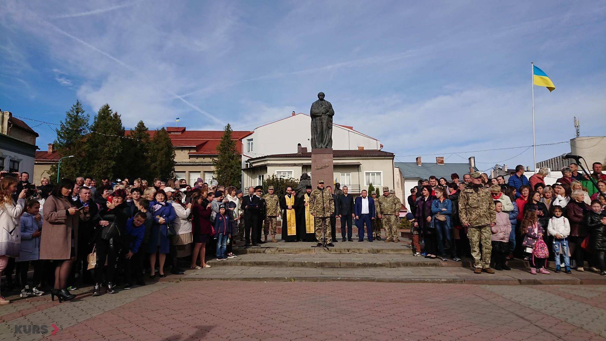 Вірність, честь, відвага: першокурсники Надвірнянського військового ліцею склали присягу 12