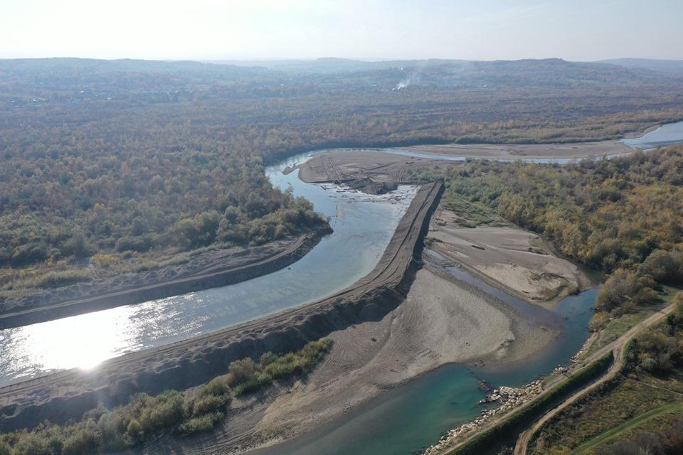 Змінюють русло Пруту, щоби захистити чотири села на Снятинщині 3
