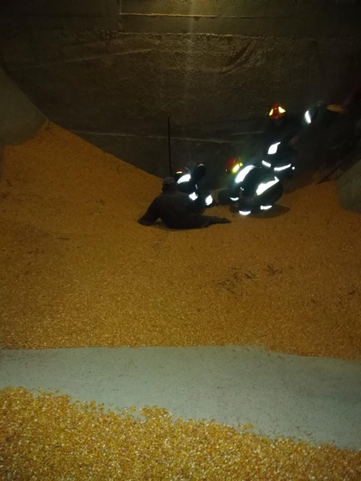 На Прикарпатті двоє людей загинули в елеваторі для сушіння кукурудзи 2