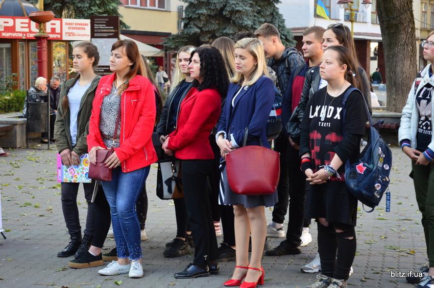 Іванофранківці німою ходою пройшлися проти торгівлі людьми 2