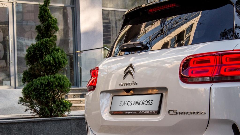 Підвіска замість крил: тест нового Citroen C5 Aircross у Франківську 18