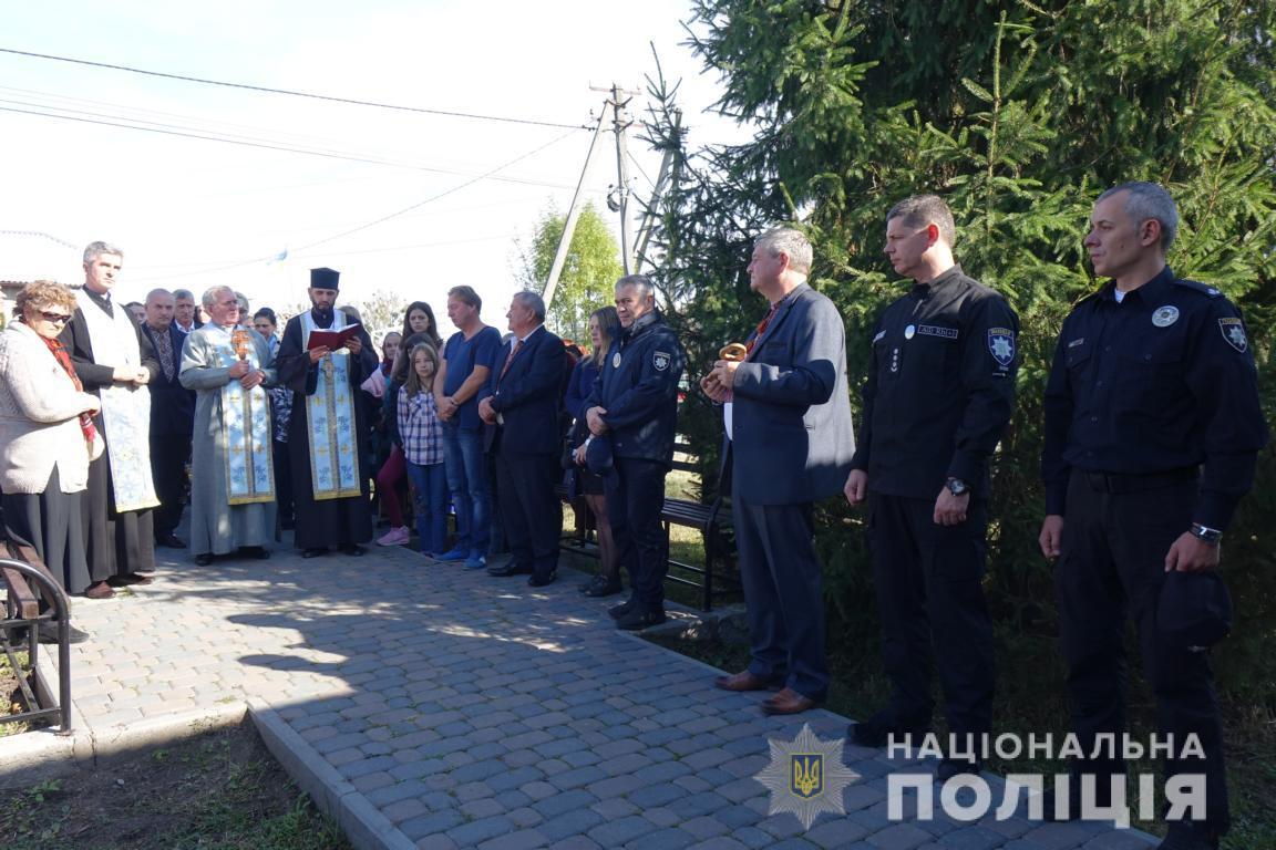 На Прикарпатті відкрили десяту поліцейську станцію 14