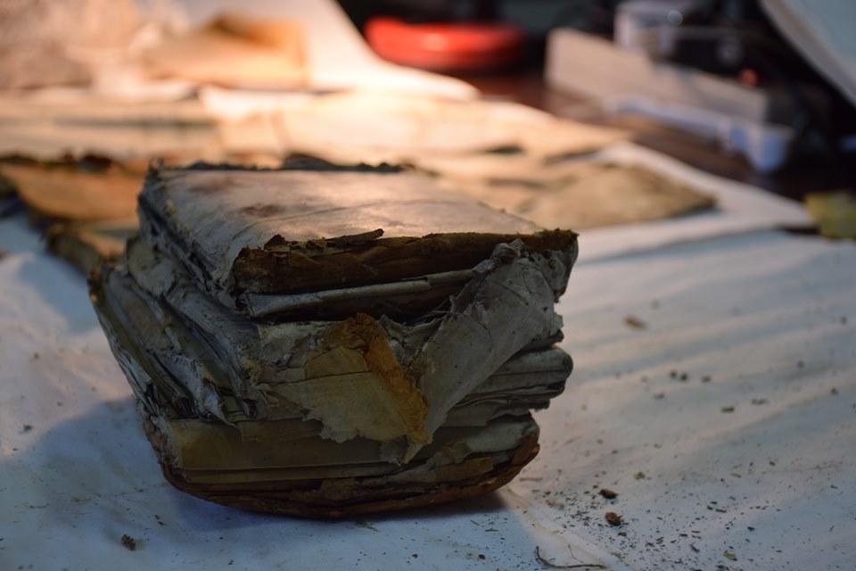 У лісах на Прикарпатті відкопали невідомі звіти УПА 2