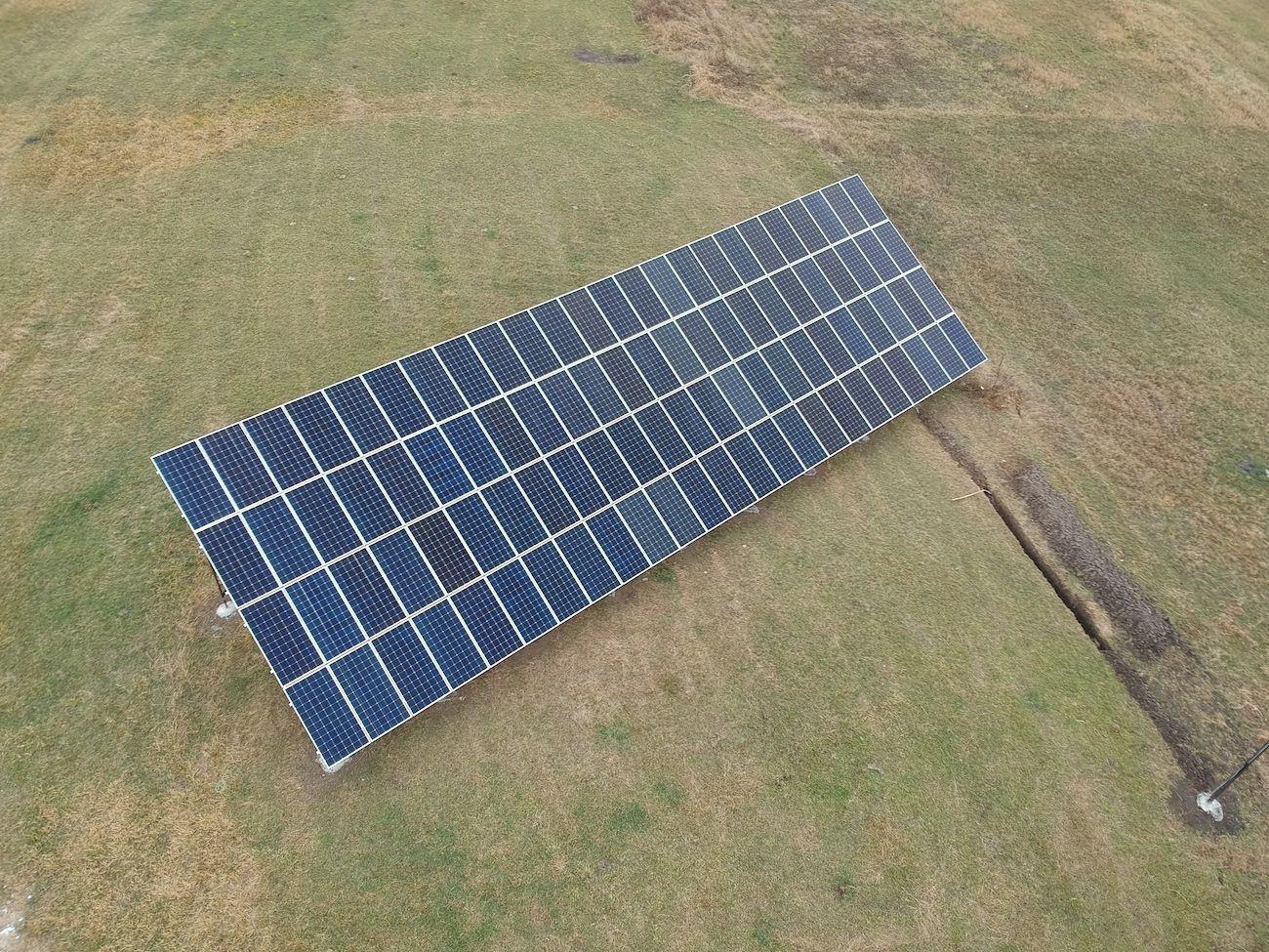 Сонячну електростанцію для дому потужністю 30 кВт змонтовано в Лісному Хлібичині 2