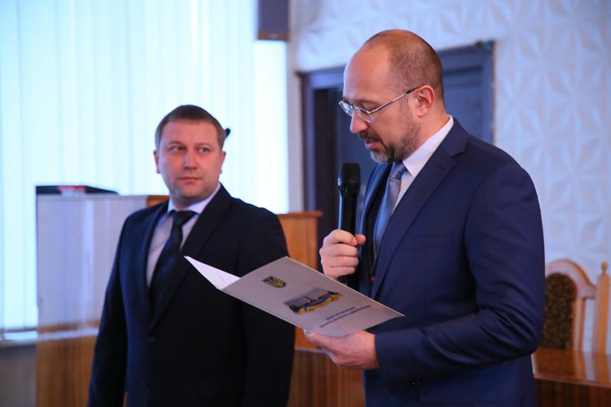 """""""Не красти"""" – Шмигаль у Рогатині представив нового голову РДА 2"""