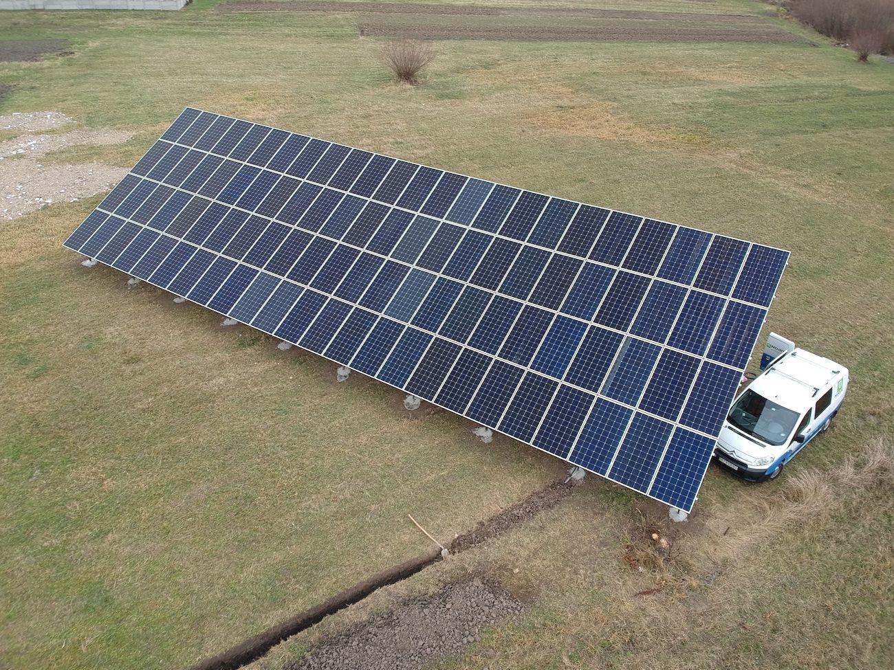 Сонячну електростанцію для дому потужністю 30 кВт змонтовано в Лісному Хлібичині 4