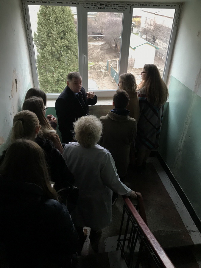 Франківські студенти медуніверситету побували в шкурі ректора 6