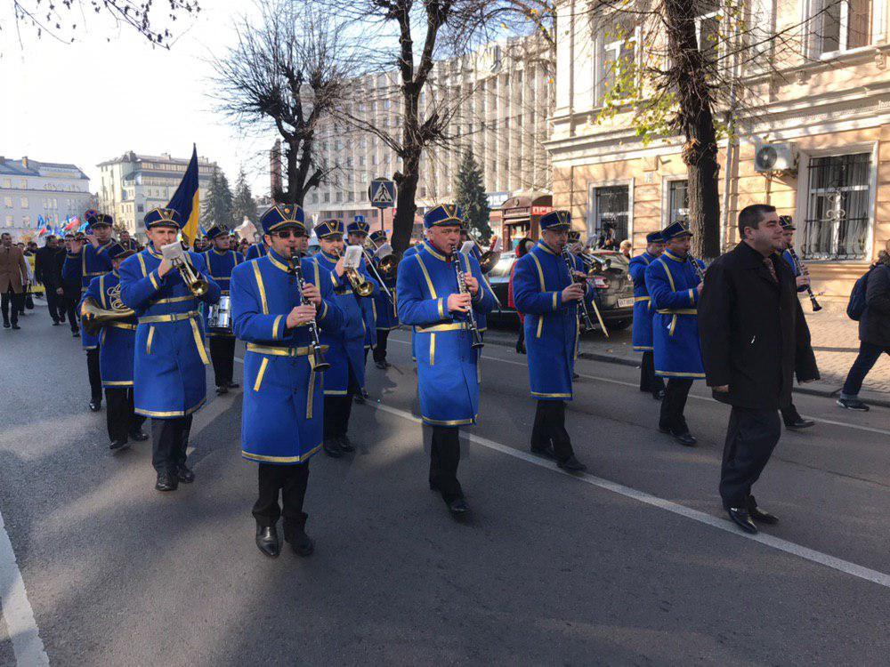 У Франківську відзначають 101-шу річницю проголошення ЗУНР 10