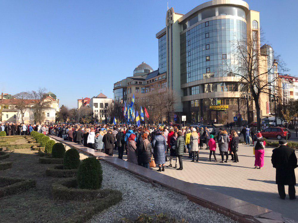 У Франківську відзначають 101-шу річницю проголошення ЗУНР 12