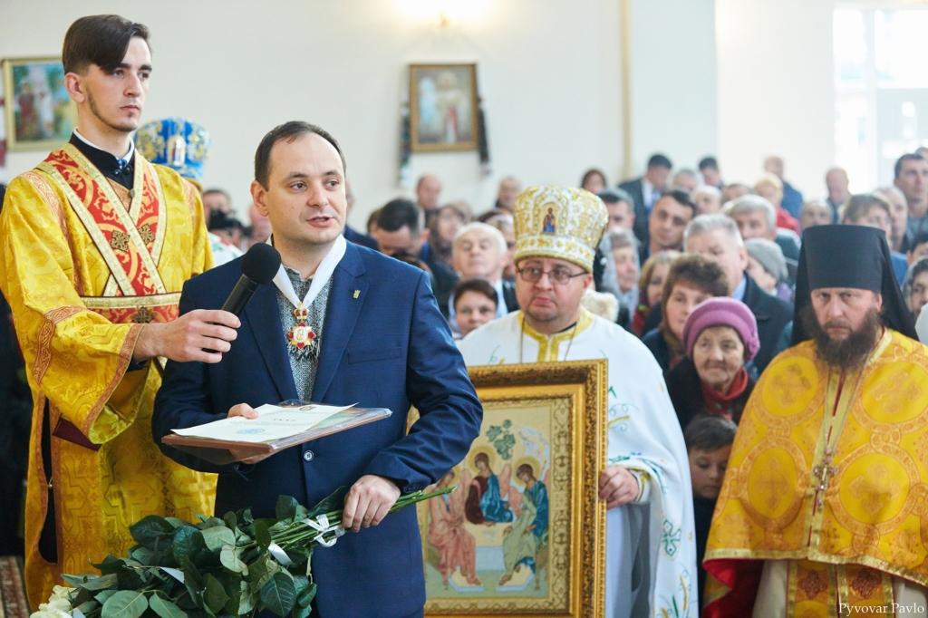 Марцінків отримав орден від ПЦУ 8