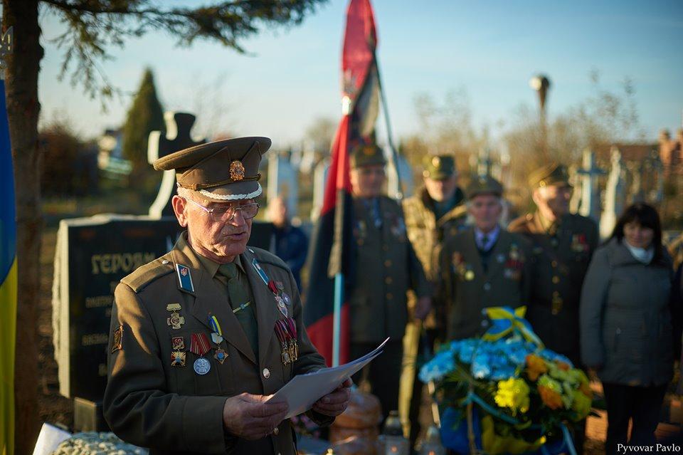 У Підлужжі відкрили пам'ятний знак розстріляним воїнам УПА 2